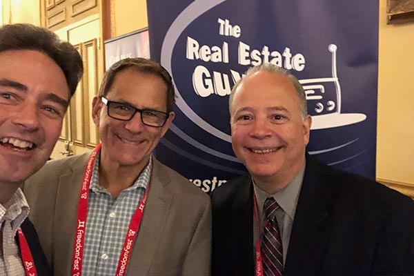 Foto: Carsten Pfau - Russell Grey - Robert Helms (Hosts of The Real Estate Guys Radio Show) Las Vegas